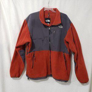 The North Face Polartec Denali Orange/Blue Jacket